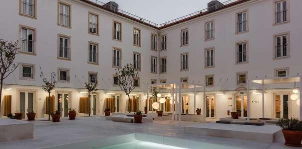I migliori design hotel lisbona centro bairro alto for Design hotel lisbona