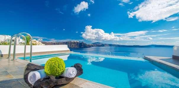 Imerovigli santorini boutique hotels luxury design hotels for Design hotels griechenland