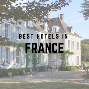 Best  Boutique Hotels in France