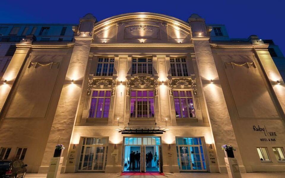 Ruby sofie hotel vienna a design boutique hotel vienna for Design hotel vienna