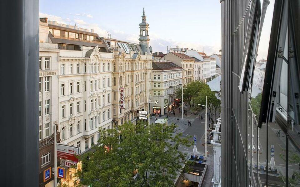 Nh collection wien zentrum a design boutique hotel vienna for Boutique hotel vienna