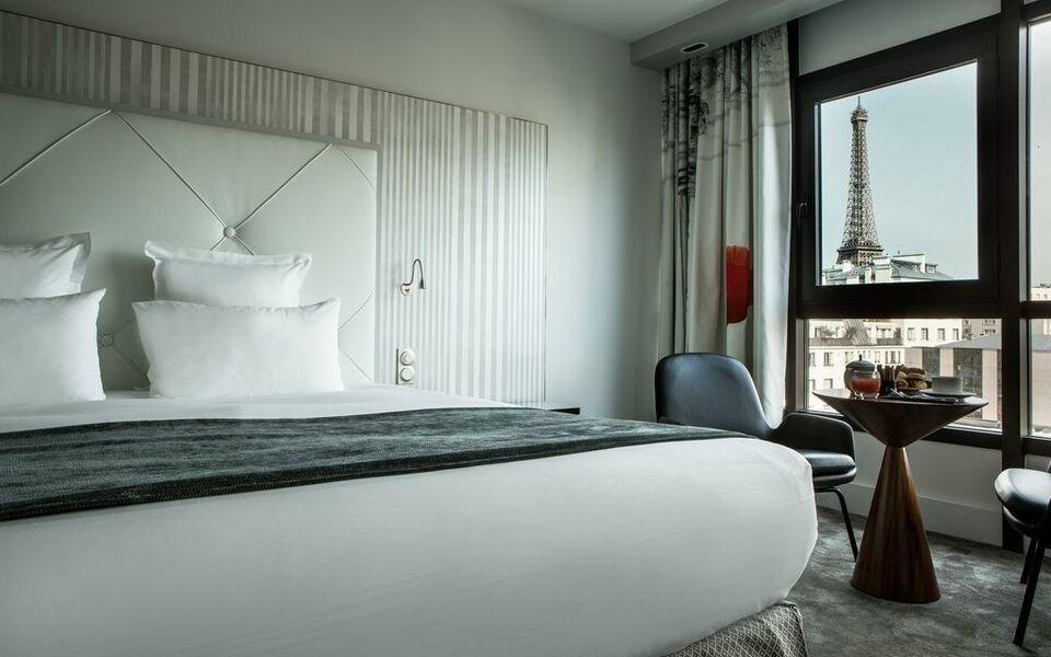Le parisis paris tour eiffel a design boutique hotel for Boutique hotel paris 8eme