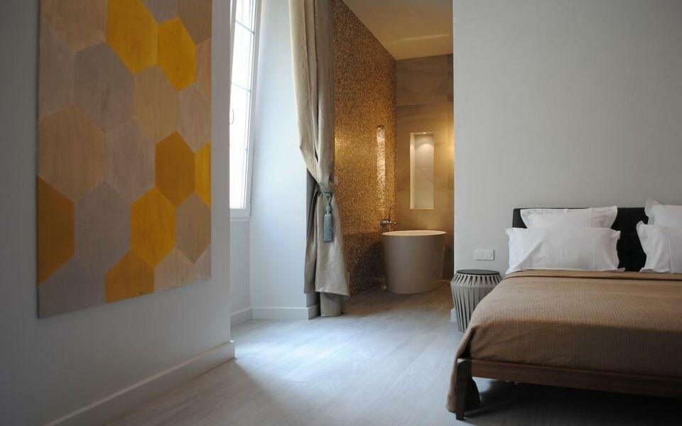 Les suites massena a design boutique hotel nice france for Boutique hotel nice