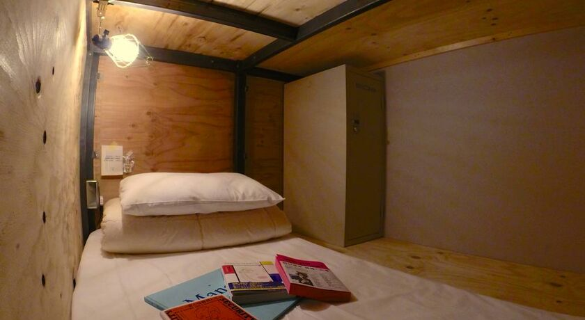 Book and bed tokyo tokyo japon my boutique hotel - Petits lits superposes ...