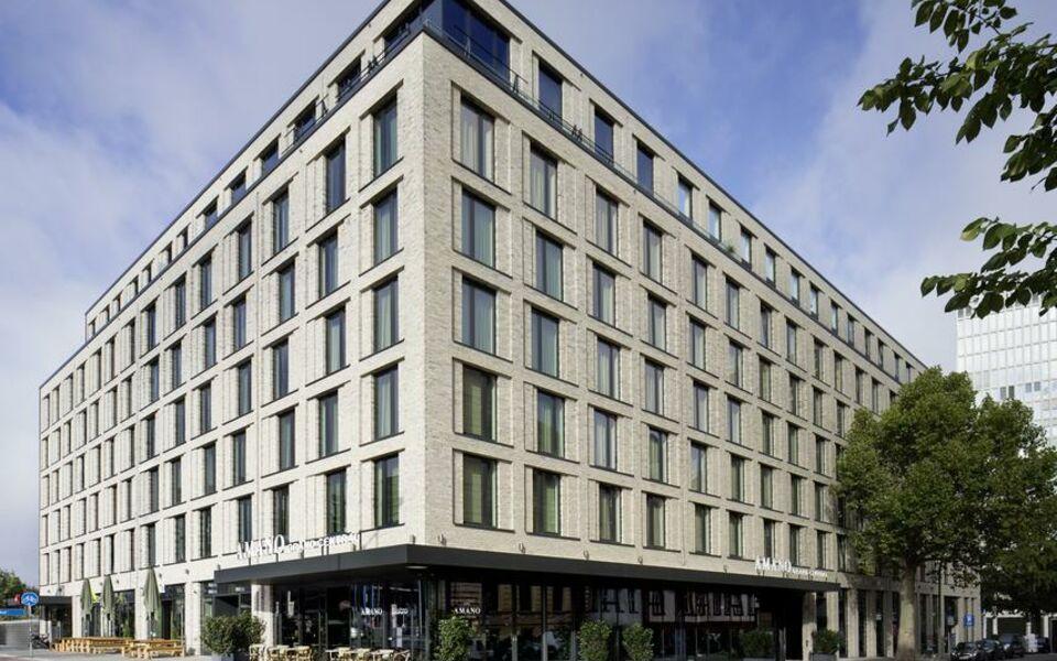 Hotel amano grand central a design boutique hotel berlin for Design boutique hotels deutschland