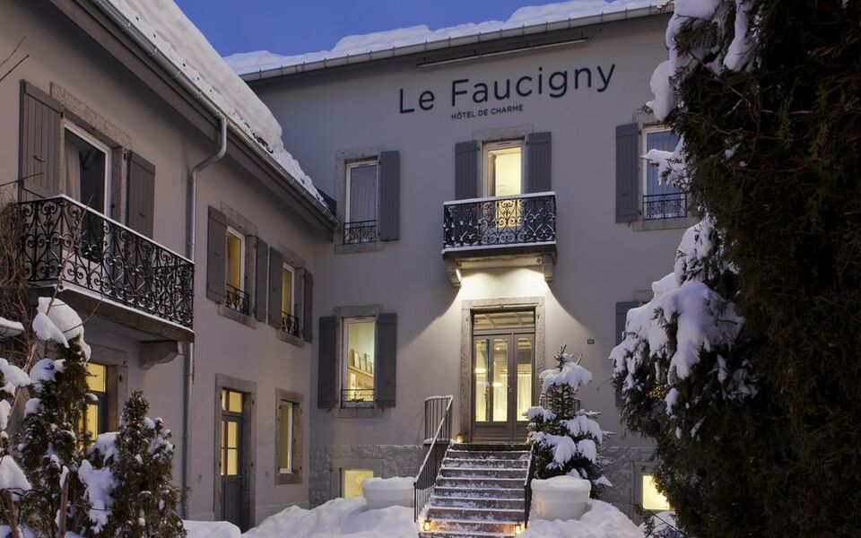 le faucigny hotel de charme a design boutique hotel chamonix france. Black Bedroom Furniture Sets. Home Design Ideas