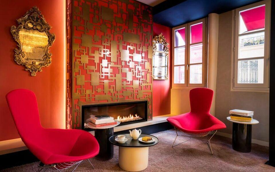 H tel de lille a design boutique hotel paris france for Hotel design en france