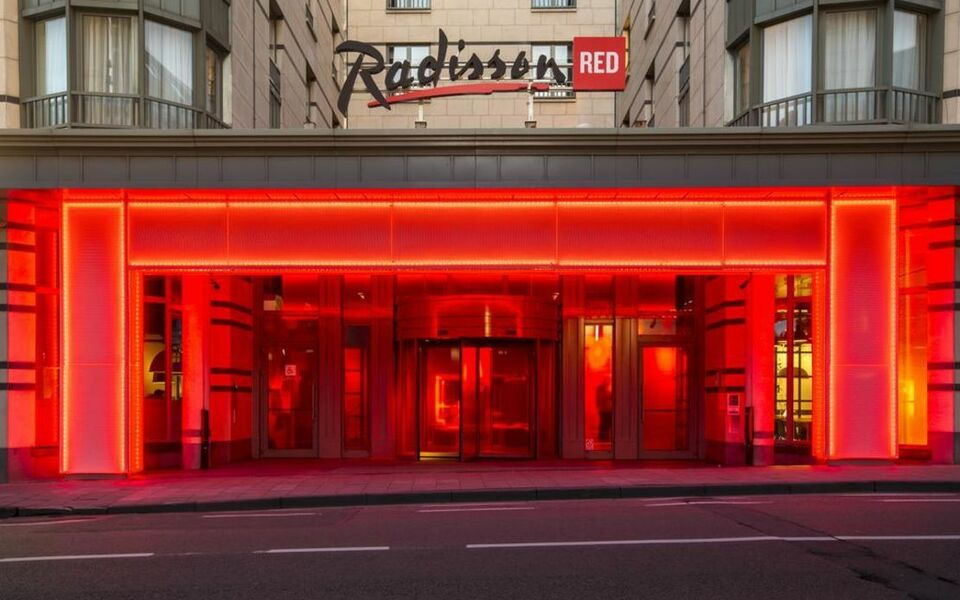 Radisson Red Hotel Brussels A Design Boutique Hotel