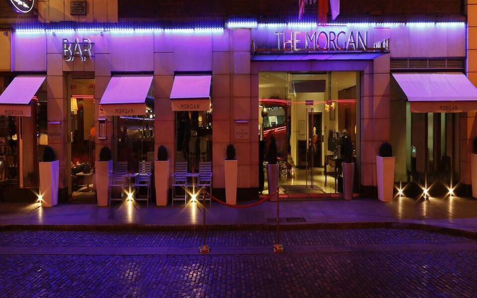 The morgan hotel a design boutique hotel dublin ireland for Design hotel dublin