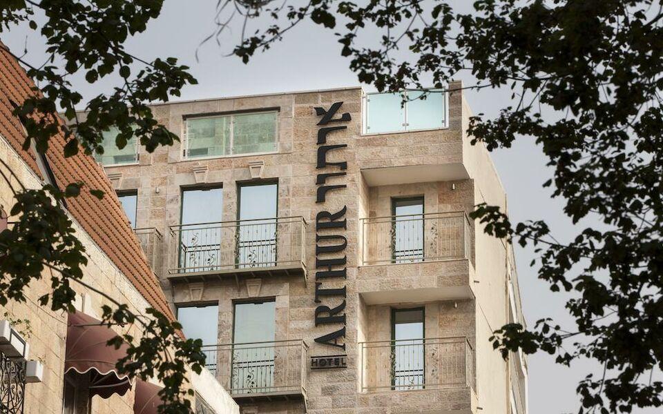 Arthur hotel an atlas boutique hotel a design boutique for Hotel design jerusalem