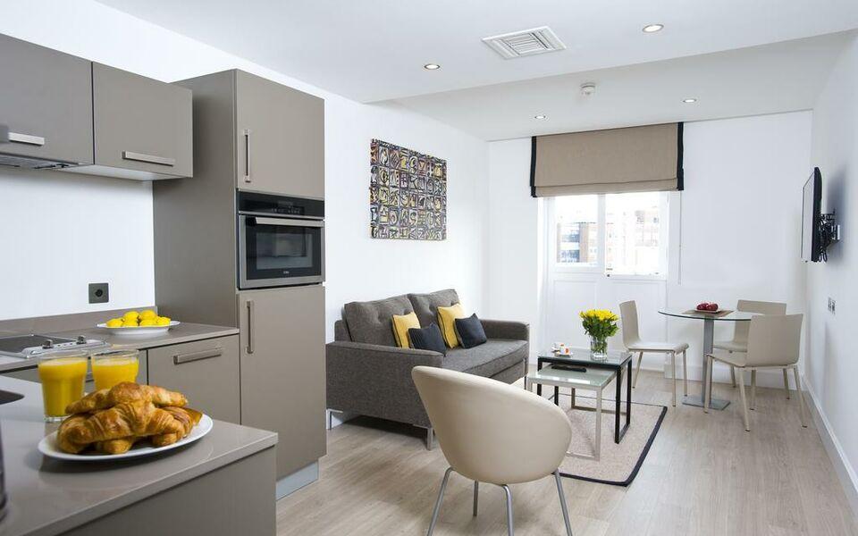 The rosebery aparthotel london gro britannien for Apart hotel londre