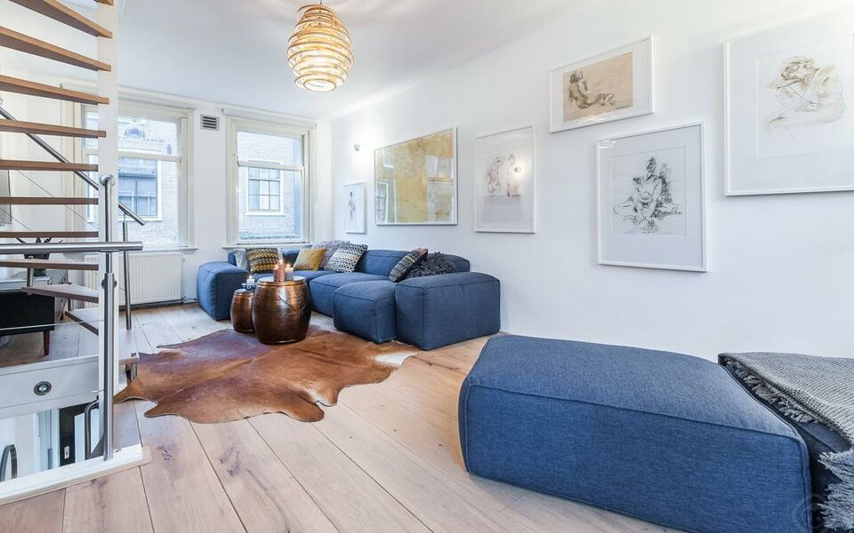 Jordaan orange house apartment amsterdam pays bas my for Appart hotel amsterdam 2 personnes