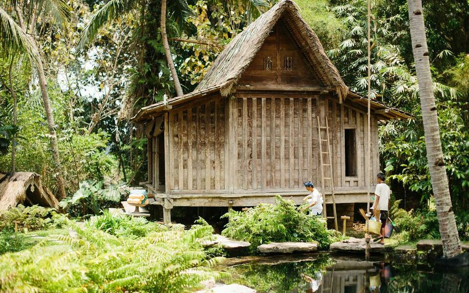 Bambu indah a design boutique hotel ubud indonesia for Design boutique hotel ubud