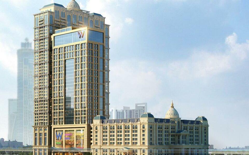W dubai al habtoor city a design boutique hotel dubai for Trendy hotels dubai