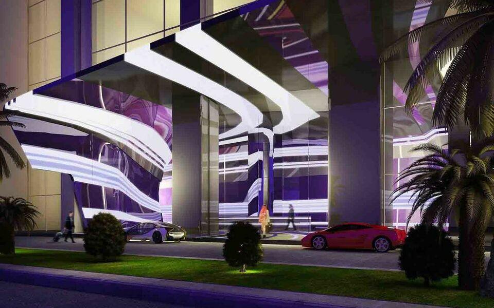 W dubai al habtoor city a design boutique hotel dubai for Ma boutique hotel