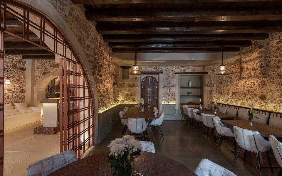 Serenissima boutique hotel chania town griechenland for Griechenland designhotel
