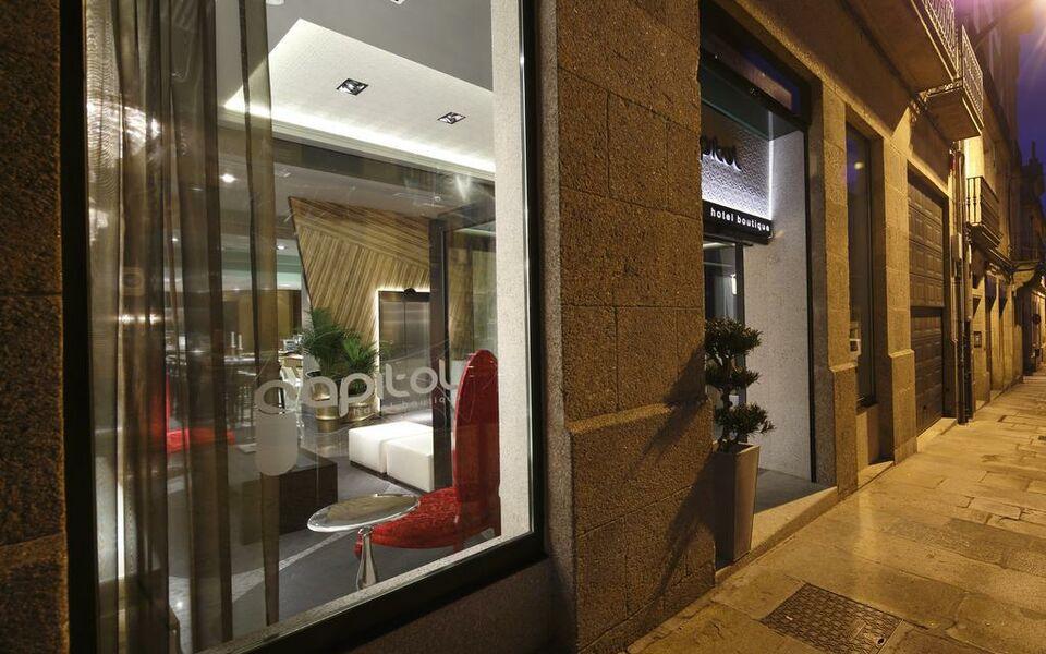 capitol boutique hotel santiago de compostela spanien