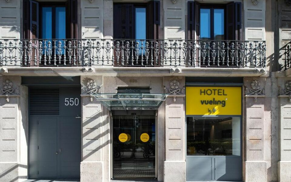 Hotel vueling bcn by hc barcelone espagne my boutique for Oficinas vueling barcelona