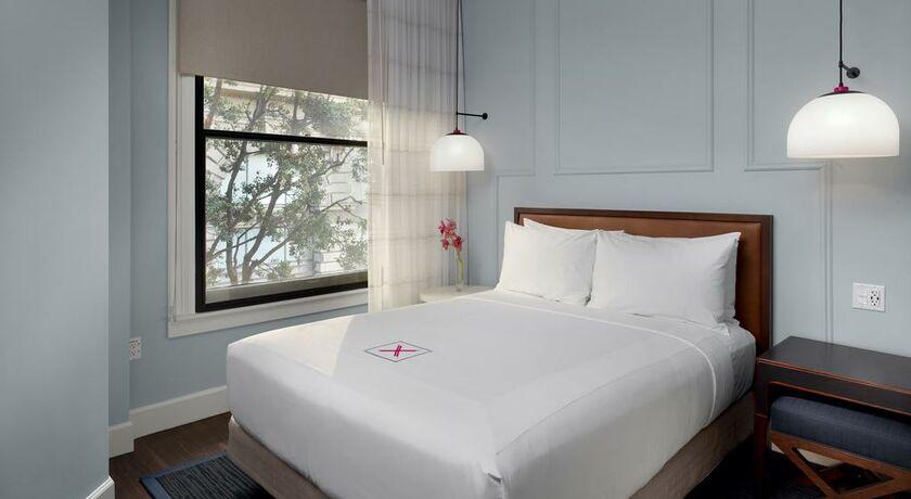 Axiom hotel san francisco vereinigte staaten von amerika for Bett vor heizung