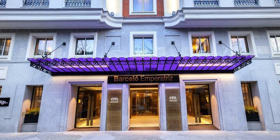 Barcel Emperatriz A Design Boutique Hotel Madrid Spain