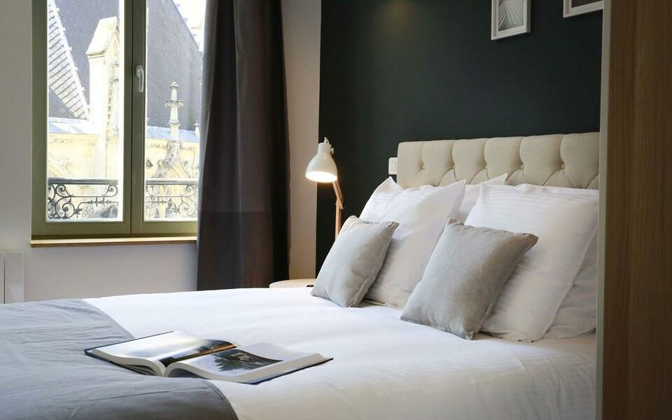 Flandres appart h tel lille france my boutique hotel for Appart hotel lille