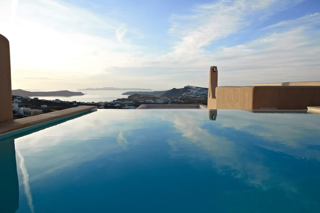 Voreina gallery suites santorini grecia - Hotel con piscina privata grecia ...