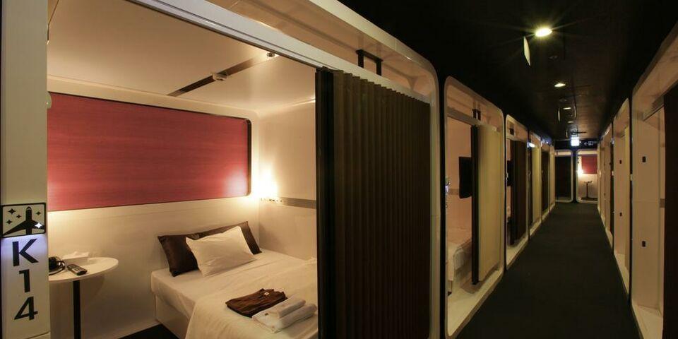 First cabin tsukiji a design boutique hotel tokyo japan for Cabin hotel tokyo