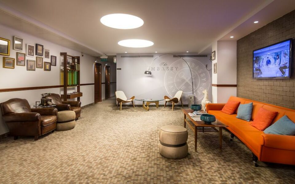 Embassy hotel tel aviv a design boutique hotel tel aviv for Design hotel tel aviv