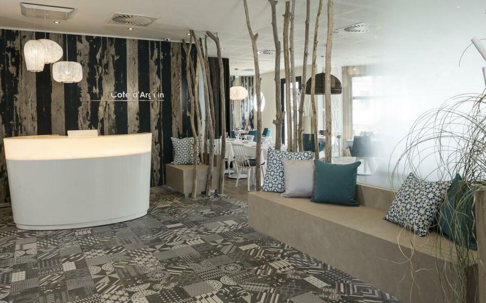 h tel les bains d 39 arguin by thalazur a design boutique hotel arcachon france. Black Bedroom Furniture Sets. Home Design Ideas