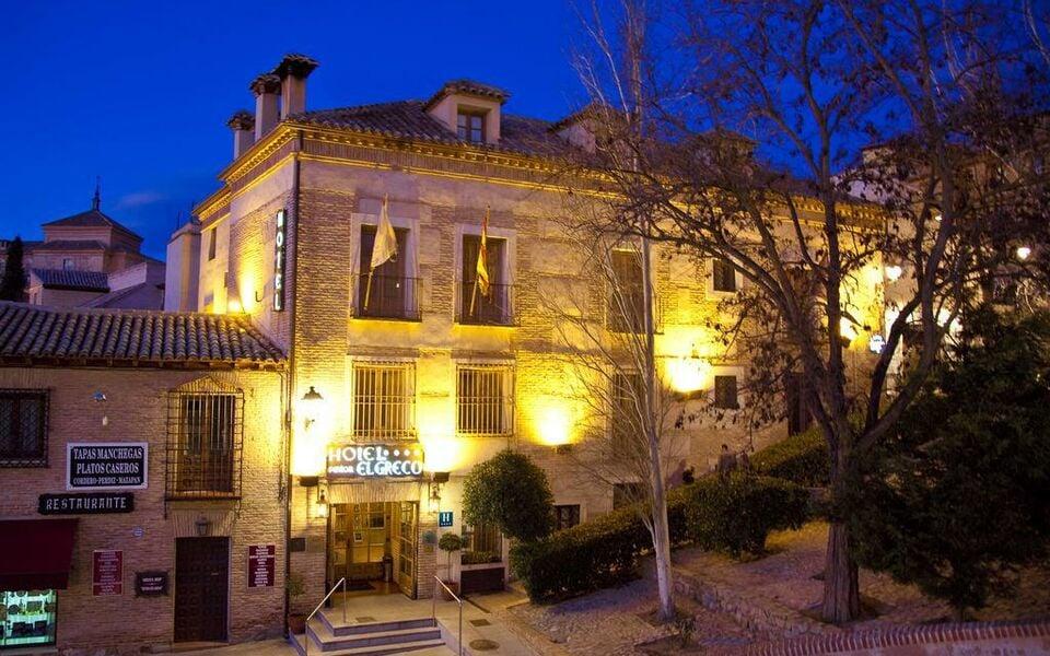 sercotel pintor el greco toledo espagne my boutique hotel On hotel pintor el greco