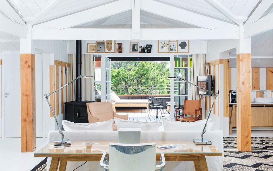ha a tza a design boutique hotel pyla sur mer france. Black Bedroom Furniture Sets. Home Design Ideas