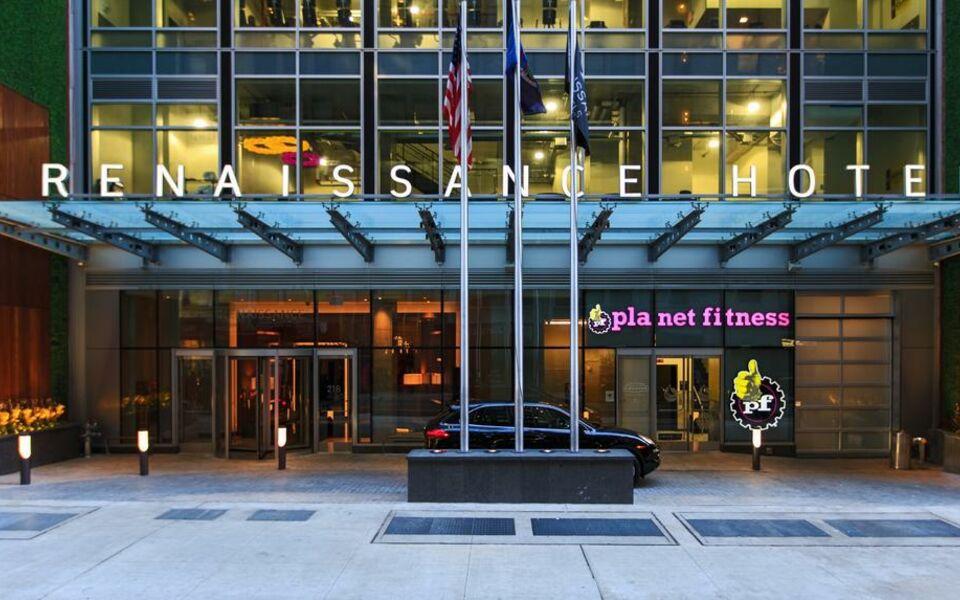 Renaissance New York Midtown Hotel New York Nyc Vereinigte Staaten Von Amerika