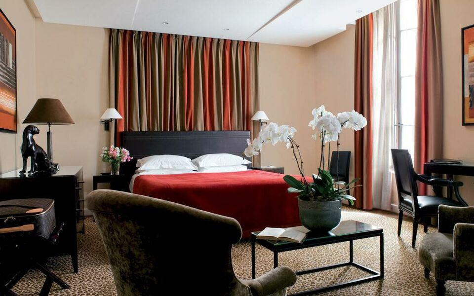 esprit saint germain a design boutique hotel paris france. Black Bedroom Furniture Sets. Home Design Ideas
