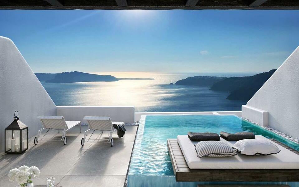 Cavo tagoo santorini santorini griechenland for Design hotels griechenland