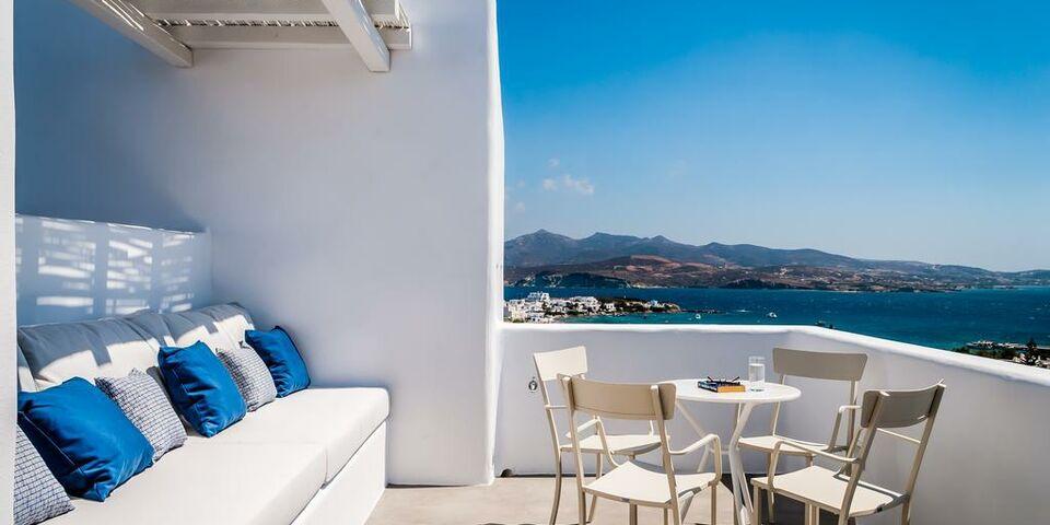 Milos breeze boutique hotel pollonia griechenland for Boutique hotel milos