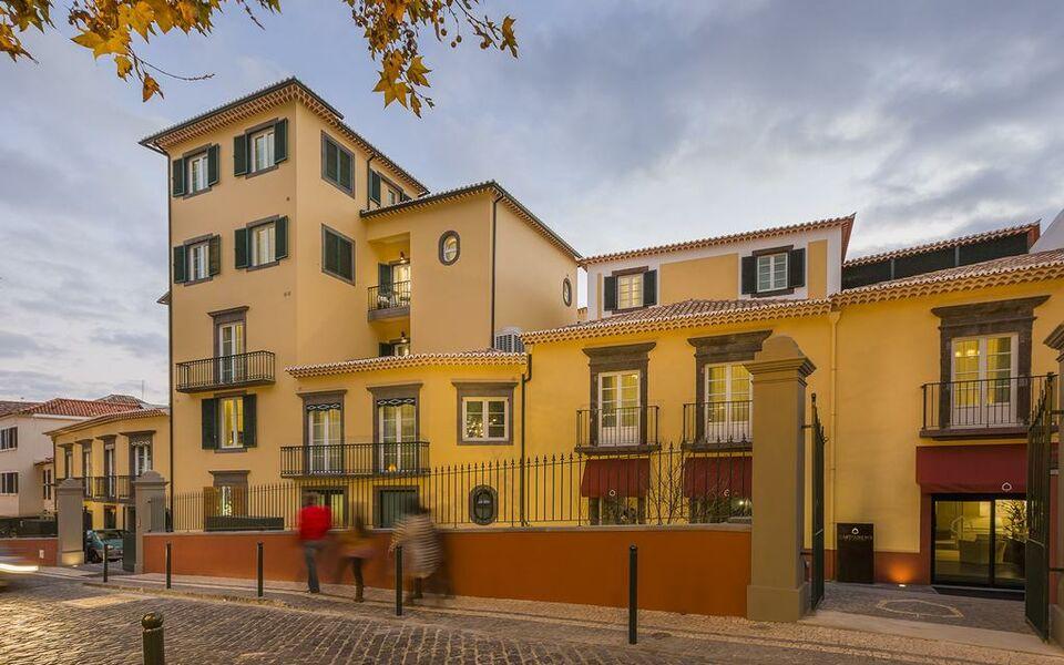 Castanheiro boutique hotel a design boutique hotel for Madeira design hotel