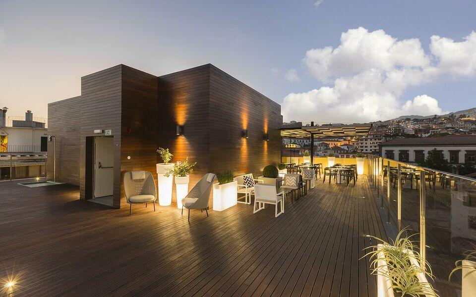 Castanheiro boutique hotel a design boutique hotel for Designhotel madeira