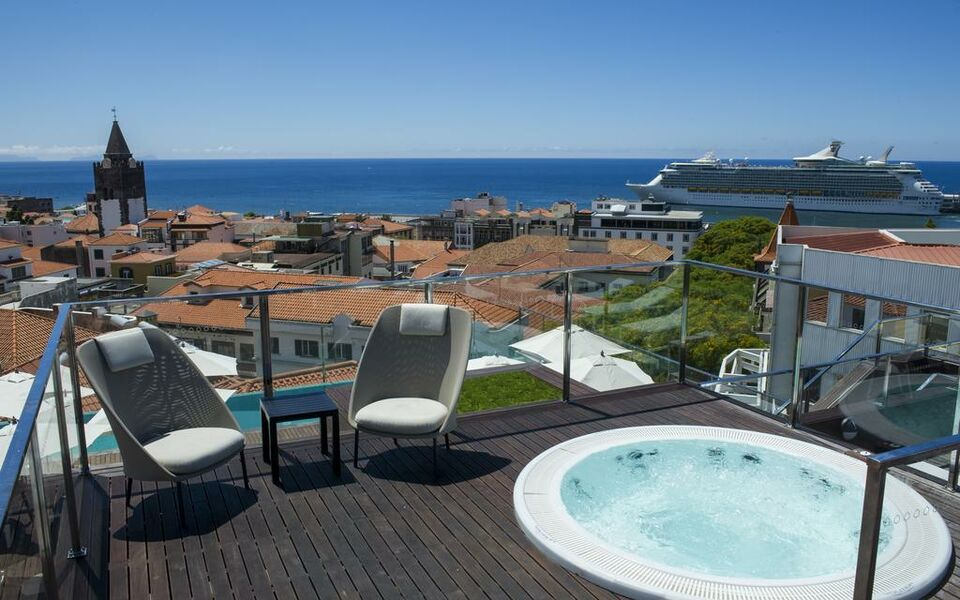 Castanheiro boutique hotel funchal portugal my for Design boutique hotel funchal