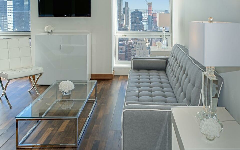 Amazing One Bedroom Apartment with lovely view near 5th Avenue !, New York (4)
