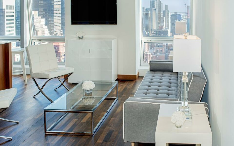 Amazing One Bedroom Apartment with lovely view near 5th Avenue !, New York (6)