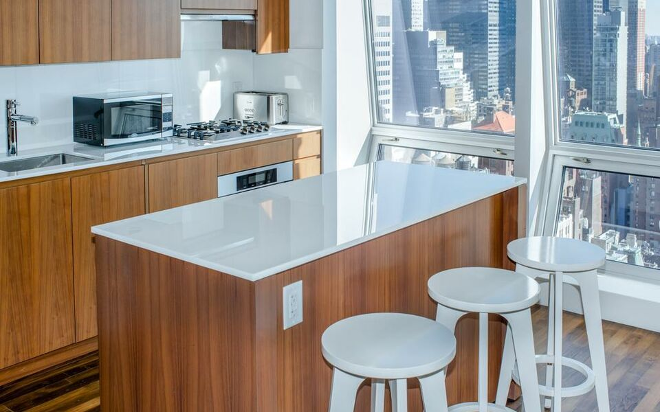 Amazing One Bedroom Apartment with lovely view near 5th Avenue !, New York (11)