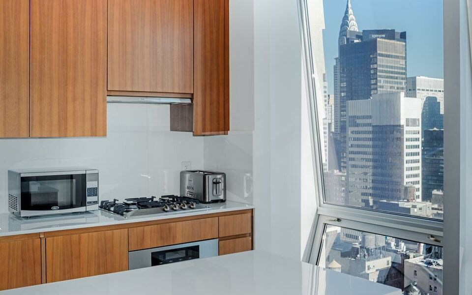 Amazing One Bedroom Apartment with lovely view near 5th Avenue !, New York (12)