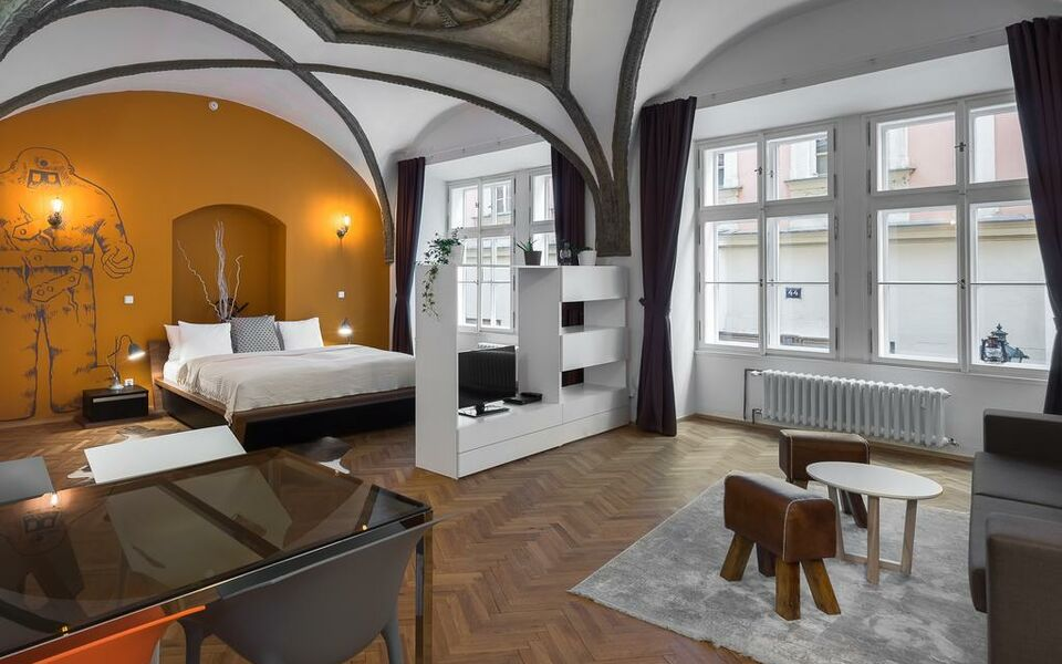 7 tales suites a design boutique hotel prague czech republic for Design boutique hotel prague