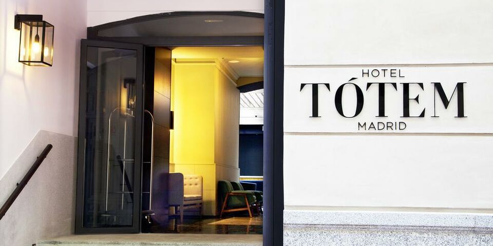 Totem Madrid A Design Boutique Hotel Madrid Spain