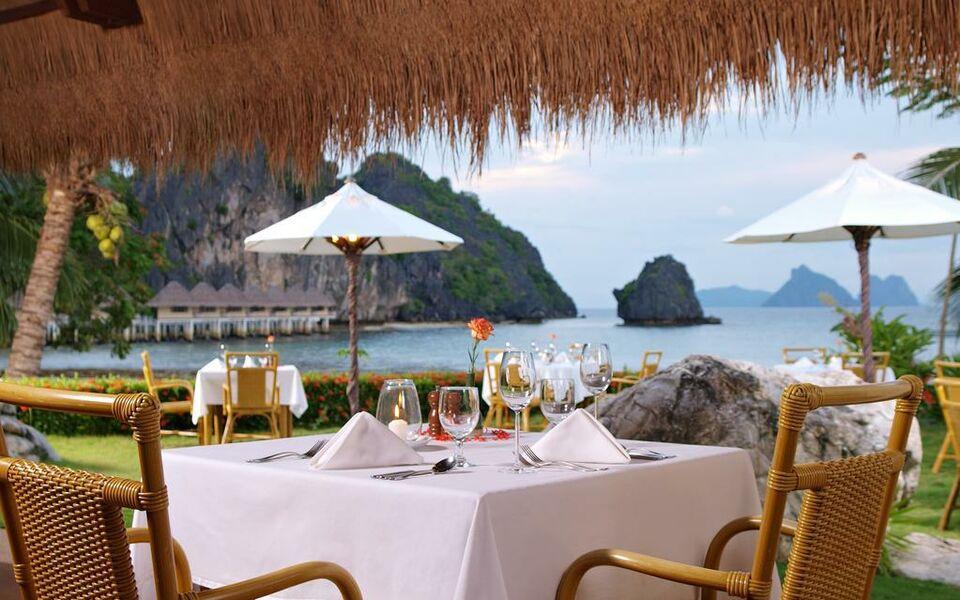 El nido resorts apulit island apullit island filippine for Piani cottage sulla spiaggia su palafitte