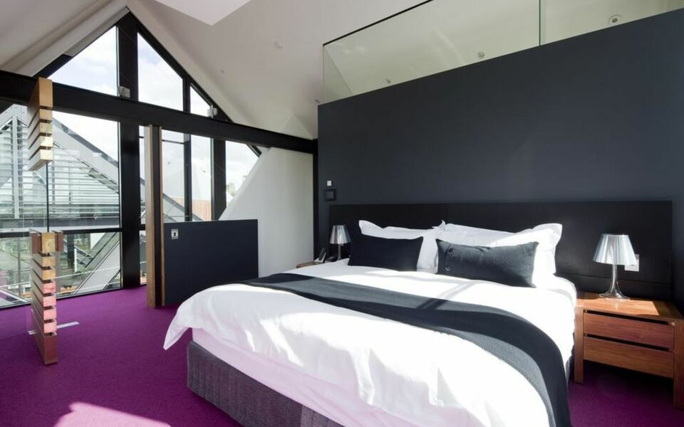 Mona pavilions a design boutique hotel hobart australia for Best private dining rooms hobart