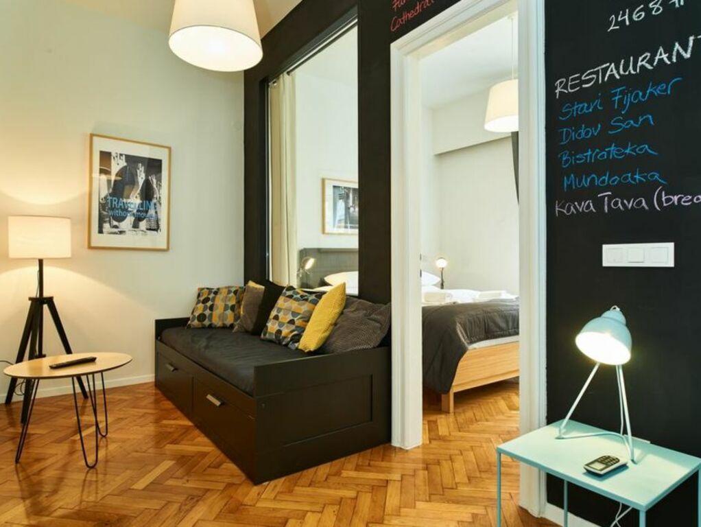 Irundo zagreb downtown apartments a design boutique for Boutique hotel zagreb croatia