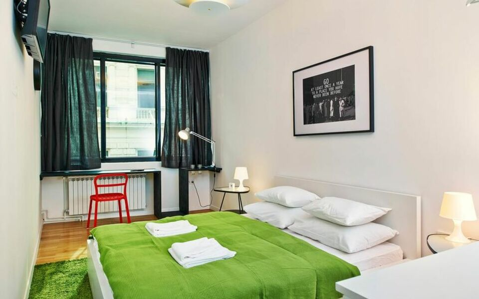 Irundo zagreb downtown apartments zagreb croatie my for Design boutique hotel zagreb