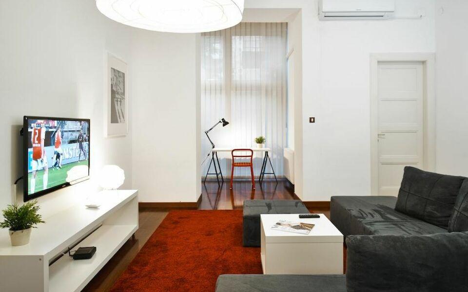 Irundo zagreb downtown apartments zagreb kroatien for Design boutique hotel zagreb