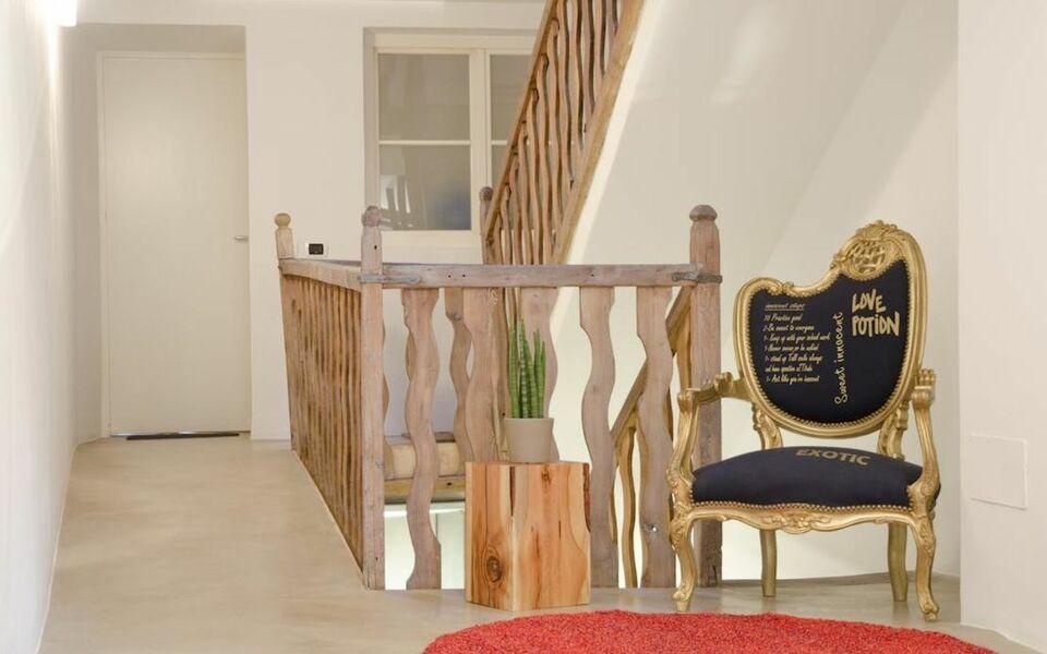Goethe guesthouse bolzano italien for Boutique hotel bozen